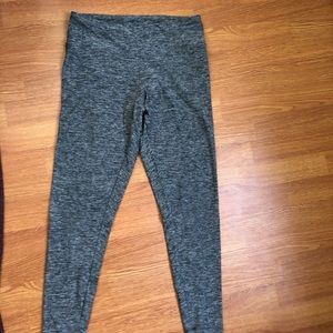 Grey heather express leggings